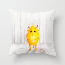 brownie Throw Pillow