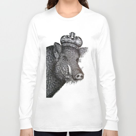 The Boar King Long Sleeve T-shirt