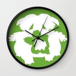 Minimalist Venusaur Wall Clock
