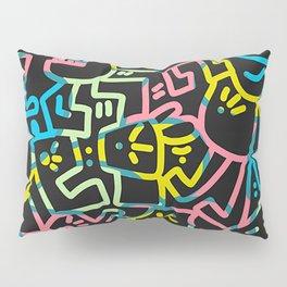 Happy Doodle Pillow Sham