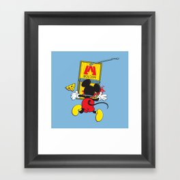A Better Mousetrap Framed Art Print