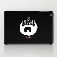 the xx iPad Cases featuring xX   BEARD GANG   Xx by Frankie White