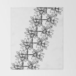 Lotus Lei Throw Blanket