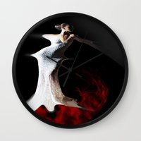 spanish Wall Clocks featuring Spanish Dream by Müge Başak