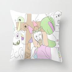 Funland 3 Throw Pillow