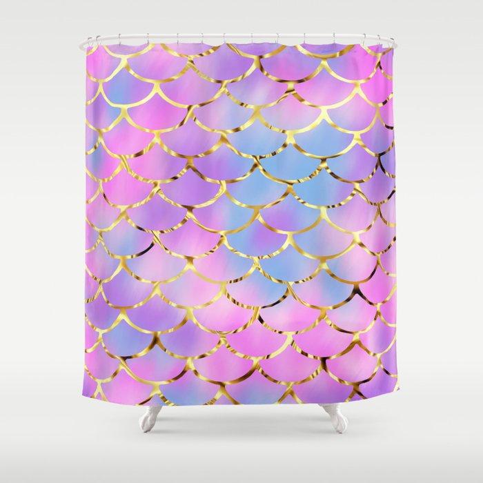 Mythical Mermaid Shower Curtain