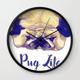 Pug-Tastic! Wall Clock