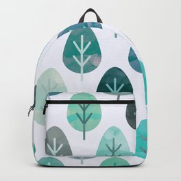 Watercolor Forest Pattern #6 Backpack