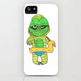 Baby creature from the black lagoon iPhone Case