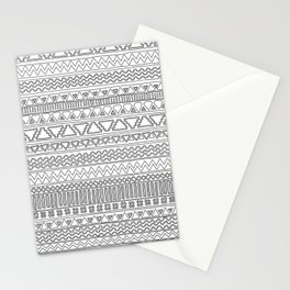 Keef Black and White Stationery Cards