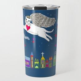 Kitty Angel Travel Mug