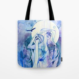 Goddess of Aquarius - An Air Elemental Tote Bag