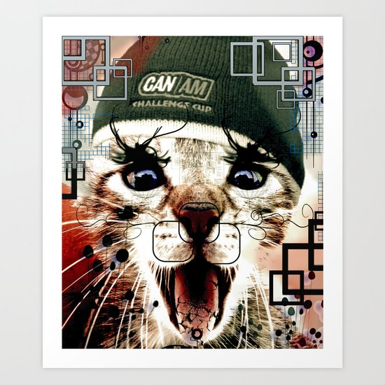 MAOW Art Print
