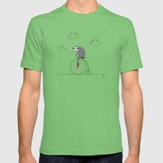 The Happy Ride Grass SMALL Mens Fitted Tee