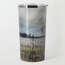 Florida Cotton Fields  Travel Mug