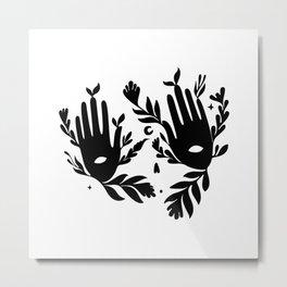 Yugen Metal Print
