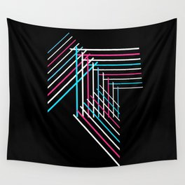 Transcend Patchwork Wall Tapestry