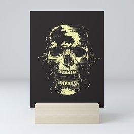 Scream (gold) Mini Art Print