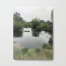 Somewhere in Balkans II/River Metal Print