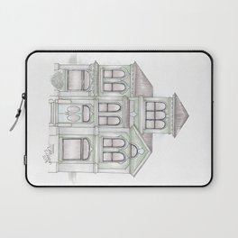 Green Italianate Victorian Laptop Sleeve