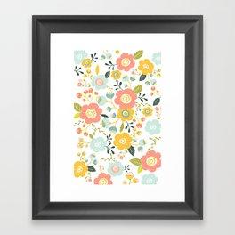 Airy Garden I Framed Art Print