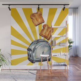 Toaster Wall Mural