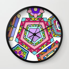 Pentagon Wall Clock