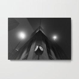 Clock Work Metal Print