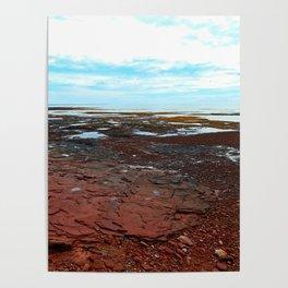Point Prim Tidal Shelf and Coastline Poster