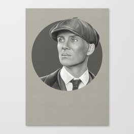 Peaky Shelby Canvas Print