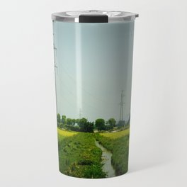 Rice Paddy in Tam Coc Travel Mug
