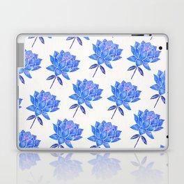Sacred Lotus – Blue Blossom Laptop & iPad Skin