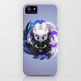 Dragon Black White iPhone Case
