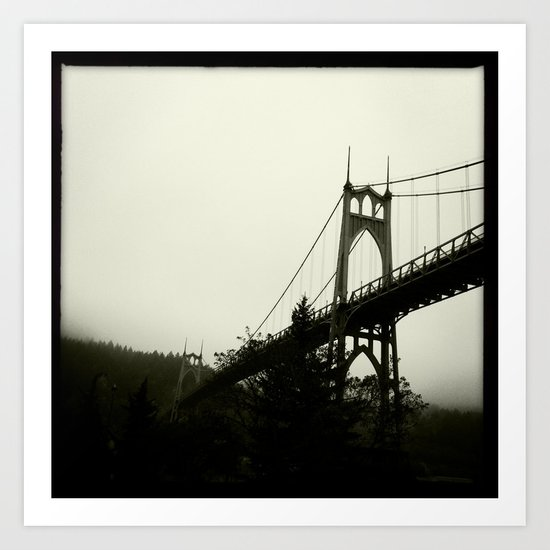 st johns bridge Art Print