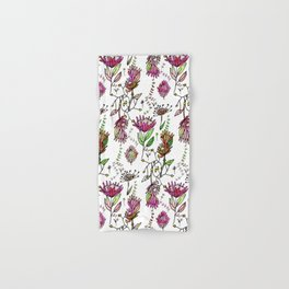 Protea Flower Pink #homedecor Hand & Bath Towel