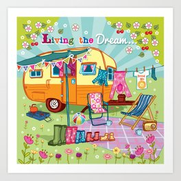 Living the Dream Art Print