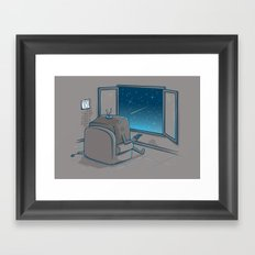 The best show Framed Art Print