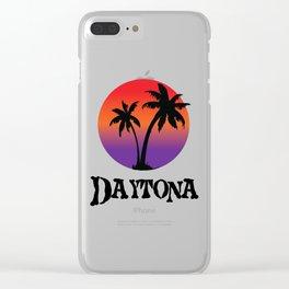 Daytona Beach Clear iPhone Case