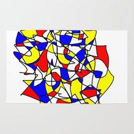 Mondrian Sneeze Rug