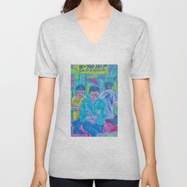 Lunch Buddies Unisex V-Neck