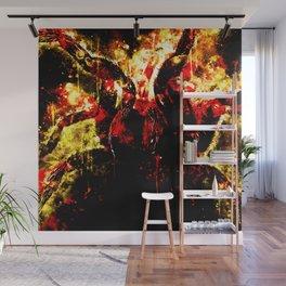 tarantula fangs wsd Wall Mural