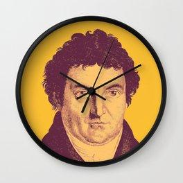 Johann Gottlieb Fichte Wall Clock