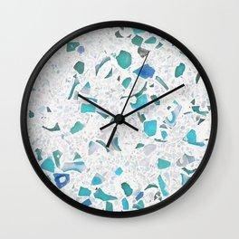 Terrazzo sea Wall Clock