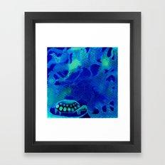 Origami Tortois 5 Framed Art Print