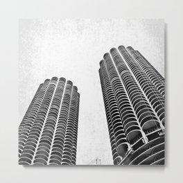 Marina Towers Metal Print