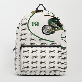 BugCycle Wall Pattern Backpack