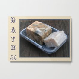 Primitive Bath Soaps Metal Print