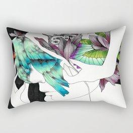 Thoughtfulness by Ong Ngoc Phuong Rectangular Pillow