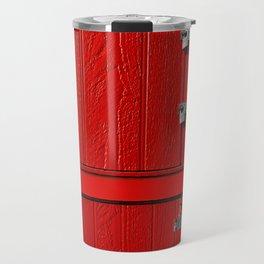 Red Cabinet Travel Mug