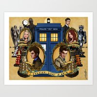 The New Who Art Print